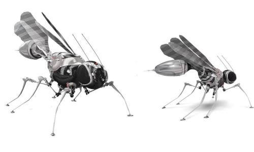 Robotic flies